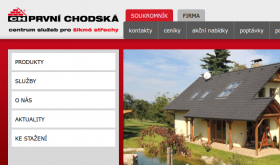 chodska.cz - screenshot